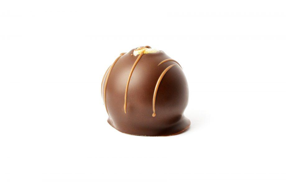 Čokoládová pralinka - Pomarančové trufflé